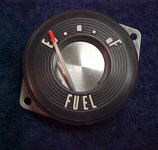 Ford T Bird Thunderbird 57 1957 Fuel Dash Gauge