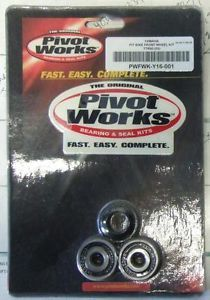 Pivot Works Front Wheel Bearing Kit Yamaha PW80 PW 80 TTR90 TTR110 TTR 90 110