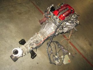 Nissan 180sx 240sx Silvia JDM SR20DET s13 Red Top Engine Trans ECU Wiring MAF