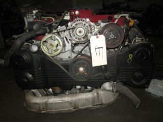 Subaru WRX STI Version 8 V8 JDM EJ20 Turbo Engine JDM EJ20T Motor AWD Trans ECU