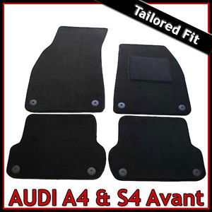 Audi A4 S4 Avant 2006 2007 2008 Tailored Fitted Carpet Car Mats