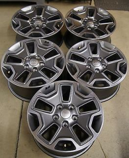 "Jeep Wrangler Rubicon 17"" Factory Wheels Rims 07 14 9118B"