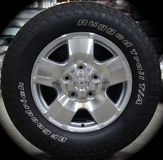 "New Toyota Tundra TRD Sequioa 18"" Factory Wheels Rims Tires 07 13 Free SHIP"