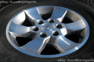 OEM FACTORY 17 WHEELS + SNOW TIRES FJ Land Cruiser Tundra Tacoma