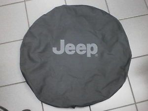 Jeep Wrangler JK Black Spare Tire Cover 82209950AB New Mopar Accessory