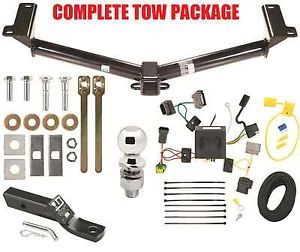 "2011 2013 Dodge Journey Trailer Hitch ""Plug Play"" Wiring Kit Ball Mount"