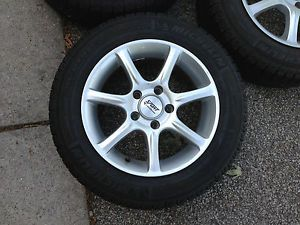 "Mercedes 190E Wheels Snow Tires 15"" Also Fit VW Audi"