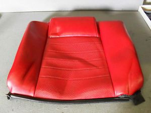 2005 Ford Mustang Rear Seat Cover Red Leather GT