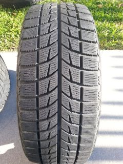 2 Bridgestone Blizzak LM 60 205 45 17 Winter Snow Tires