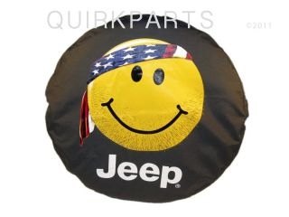2013 Jeep Wrangler Tire Cover Smiley Mopar Genuine Brand New