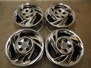 93 94 95 96 97 Pontiac Firebird Formula Trans Am Chrome Wheels 16 Inch