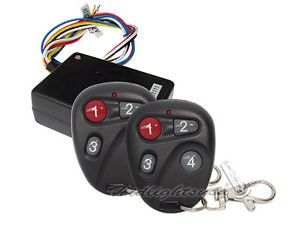 RM06 12VDC Car Motorcycle LED Light Remote Control Kit w Stroke​ Fade on Off