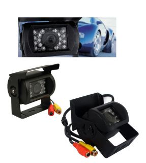 New 18 IR LED CCD Car Rear View Reverse Camera Backup Night Waterfroof Bus Truck