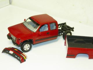 1 25 Scale Model Car Chevy Silverado 1500 Extended Cab Truck 90s Project