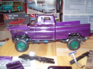 Junk Yard 60 Chevy Truck Model Kit