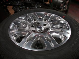 "4 20"" Ford F 150 Expedition Platinum Edition Wheels Rims Pirelli Tires"