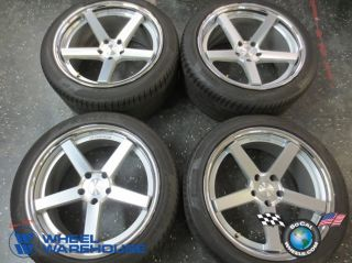Four BMW 525 535 545 735 745 750 Camaro 20 Wheels Tires Rims 5x120 Stance SC 5