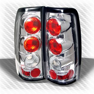 03 06 Silverado Sierra altezza Tail Lights Lamps Rear Brake Pair Taillights Set