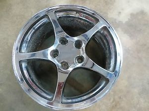C5 Corvette Chrome Wheels Set of Four