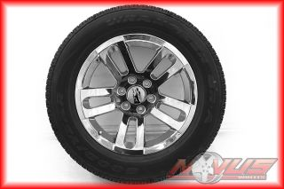 "New 20"" Chevy Silverado Tahoe GMC Sierra Yukon Chrome Wheels Goodyear Tires 18"