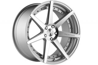"20"" Vertini Dynasty Silver Wheels Rims Fits Benz W221 S400 S550 S600 S63 S65"