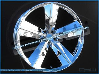 "22"" Chrome Rim Wheels Fits Chrysler 300 Dodge Magnum Charger Challenger 22"