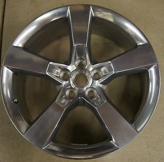 "Chevy Camaro Front 20"" Polished Factory Wheel Rim 2010 2013 5443 2"