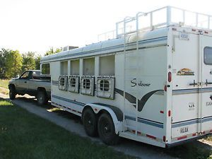 1997 Sundowner 4 Horse Trailer