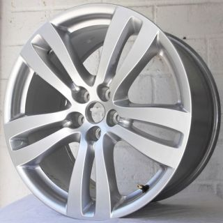 "19"" Genuine Jaguar Fits s Type R 03 06 4 2 V8 Staggered Alloy Wheels 5x108"