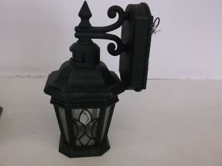 Progress Lighting Cranbrook Collection Gilded Iron 1 Light Motion Sensor Lantern