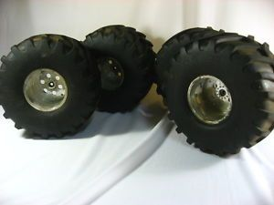 Imex Jumbo Kong Traxxas Savage Monster Truck HPI Tires Wheels Emaxx R C RC