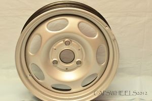 "15"" "" Rear"" 15x5 5 Smart Car 3 Lug Steel Wheels Rims"