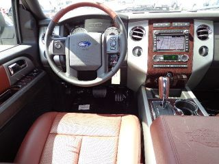 2013 White Platnium Expedition King Ranch El 4x4