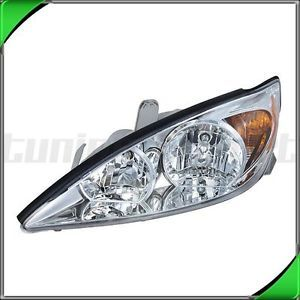 2002 2004 Toyota Camry Right Headlight Lamp Assembly TO2502137 XLE Le Chrome HSG