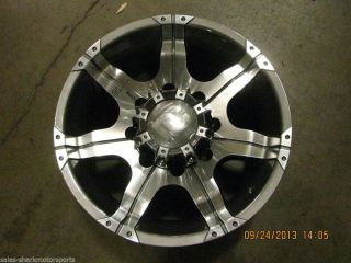 Dick Cepek DC Gun Metal 7 Gray Wheels 17 x 9 8x170mm 90000001397
