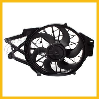 1999 2004 Ford Mustang Cooling Fan Assembly FO3115131 Motor Blade Shroud 3 8L V6