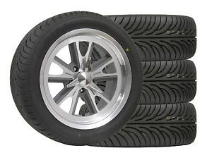 "Wheel Tire Package Eleanor 17x7"" 17x8"" 235 45 17 Sumitomo Ford Mustang Cougar"