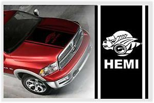 Dodge RAM Truck Hemi Bee Hood Stripe Kit Vinyl Decal Sticker