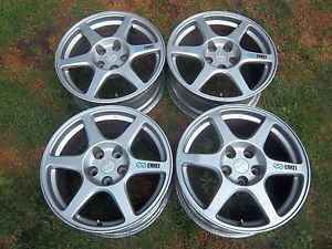 17x8 Mitsubishi Lancer Evolution evo8 Enkei Wheel 03 06 65781 Factory