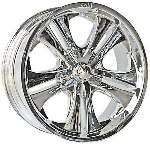 "20"" 22"" Chrome Center Cap Rims Wheels Calli 503"