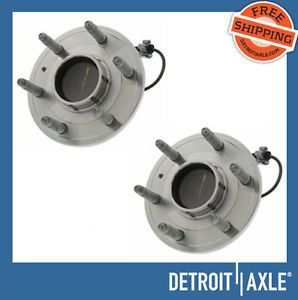 2 Front GMC Chevy Silverado Wheel Hub Bearing rwd Pair