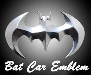 Bat Car Emblem Badge Decal Logo Sticker Car Truck Motorcycle Bike Accessories