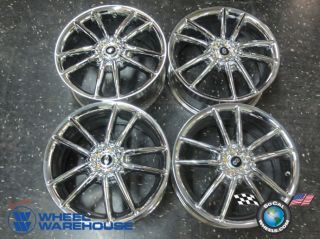 Four ES330 Camry Accord Enkei Milano 17 Chrome Wheels Rims 5x4 5 Civic Maxima