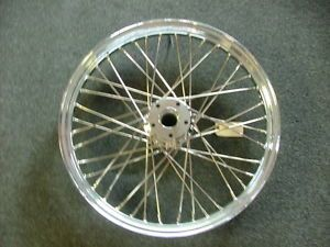 Victory Chrome 21 inch Front Wheel 40 Spoke