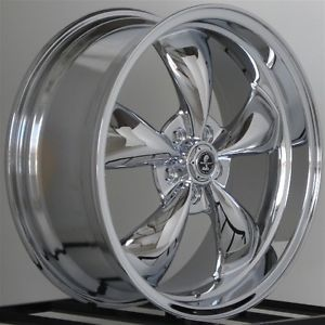 20 inch Chrome Wheels Rims Dodge Charger SRT8 Challenger 300C Staggered Torq 5 L