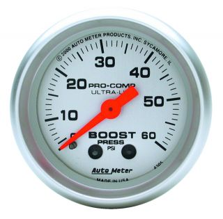 Auto Meter 4305 Ultra Lite Mechanical Boost Gauge
