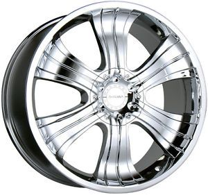 "22"" Flex Chrome Wheels Rims Cadillac Escalade Nissan Titan Infiniti QX56 6x139 7"