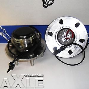 2 Front GMC Chevy Astro Van Wheel Hub Bearing rwd Pair