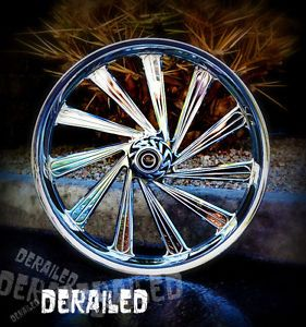 "21"" inch Custom Motorcycle Wheel Rims for Honda Fury Metric Cruiser Chrome"