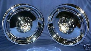 Harley Chrome Wheels Package Heritage Fatboy Softail FLST 00 Up